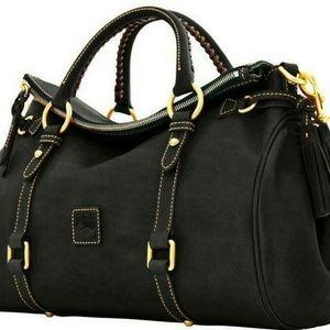 Dooney & Bourke Florentine Vacchet Leather Satchel